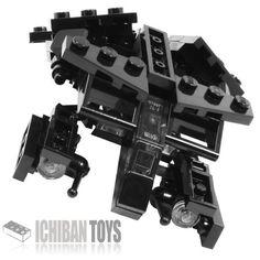 Bat - Custom LEGO Element Kit | 2012 | 93 pieces | It's a flying bat!