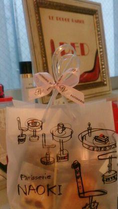 5/11お菓子の差し入れありがとうございます♪パッケージがすっごくかわいいですね~♪♪