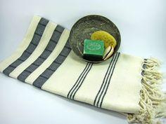 Cotton Turkish Towel Peshtemal Turkish bath and by turkishbubbles, $27.00
