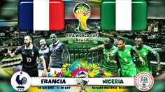 1/8 de Final: Partido Francia vs Nigeria