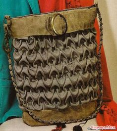 Модные сумки с буфами своими руками - Из ученицы - в профессионалы шитья. - Страна Мам