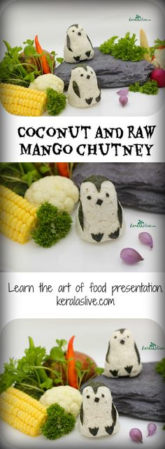 coconut and raw mango chutney is a simple and tasty South Indian side dish with fresh coconut and spices. It is mild spicy & tangy Coconut Chutney, Coconut Curry, My Recipes, Vegan Recipes, Favorite Recipes, Indian Side Dishes, Food And Thought, Indian Kitchen, Fusion Food