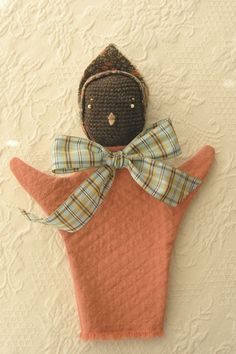 Sweet Nellie's hand puppets, also blogged on Kickcan & Conkers