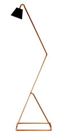 Copper Floor Lamp DIY