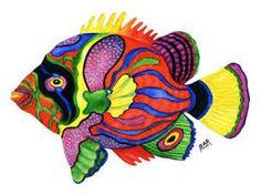 fish art - Google Search