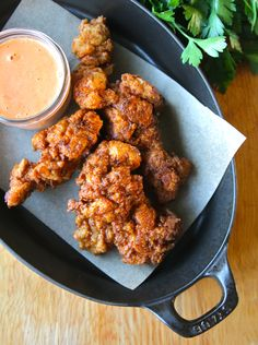 Spanish fried chicken with Romesco aioli http://mralpenglow.com/2014 ...