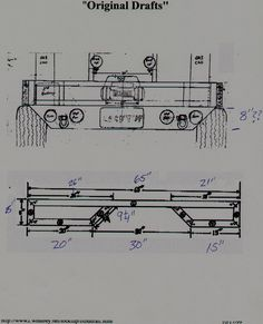 flatbed truck body plans - Google Search