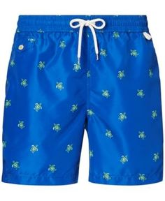 Polo Ralph Lauren Men's Big & Tall Traveler Swim Trunks - Navy 2XB
