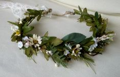 Ivy Vine Hair Wreath Renaissance Headdress rustic by AmoreBride, $62.95