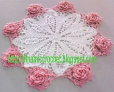 Ravelry: Flower in my doily pattern by Thata Pang