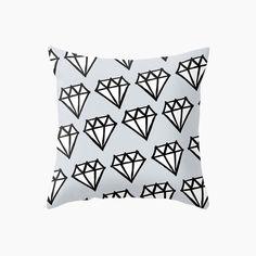 Diamonds Cushion - Blue