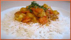 الطبخ العربي والعالمي |طريقة عمل الارز الابيض بالخضار فيديو عالي الجودة 2015