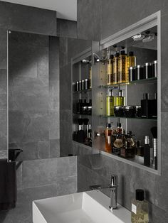 CABINETS with light and fixtures for dazzling #bathrooms: discover the latest design news