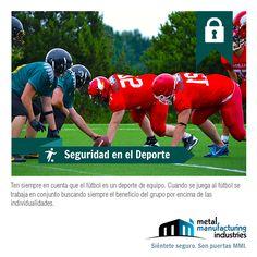 El fútbol es un deporte de quipo, para poder ganar debes trabajaren conjunto buscando siempre el beneficio del grupo por encima de las individualidades.