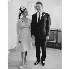 Elizabeth Taylor third wedding dress