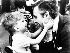 Mr. Rogers...nicest guy in ALL the universes!!