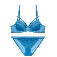 CINOON Sexy Eyelashes Satin Bra Set Solid Color Lingerie lace brassiere women  underwear set push up aecf75294