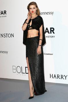 Lindsey Wixson at Cannes amfAR Gala 2015