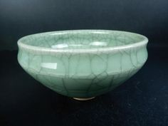 J5485: Japanese Kiyomizu-ware Celadon Tenmoku TEA BOWL Chawan Tea Ceremony | Antiques, Asian Antiques, Japan | eBay!