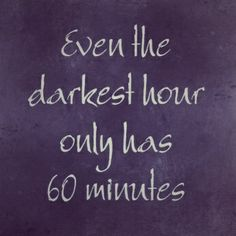 Sometimes those 60 minutes are more than you can bear.....Life with Fibromyalgia/ Chronic Pain