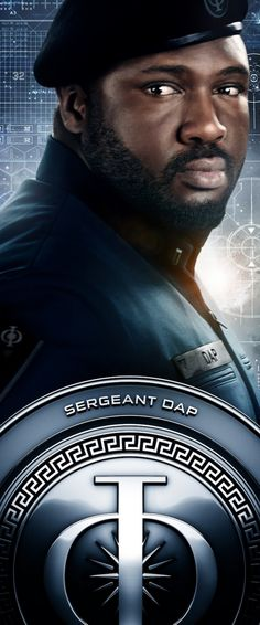 Ender's Game, Nonso Anozie as Sergeant Dap