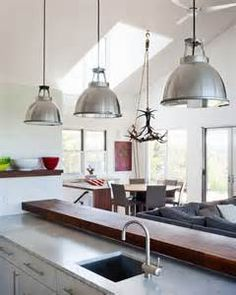 industrial looking kitchen lights - Bing Images