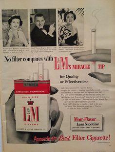 Cigarette Ad 1950s