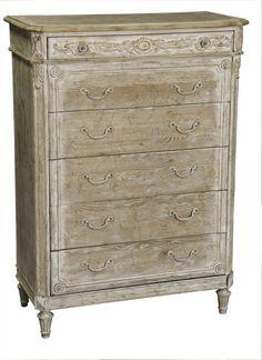 Pulaski Ardenay 6 Drawer Chest in Light Wood 214124