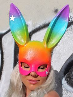 Discotech Bunny Mask | Space Boots