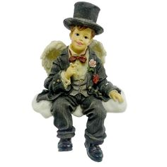 Amazon.com - Boyds Bears Wee Folkstones - Tuxsworth J. Cummerbund - Collectible Figurines+