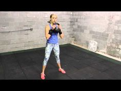 Kettlebell Spring Clean Workout for Women