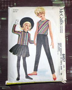 Vintage Sewing Pattern 6457 McCalls