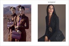 Vittoria Ceretti, Faretta and Lea T. star in Givenchy's spring-summer 2017 campaign