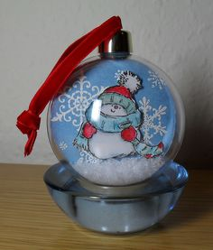 Bauble front - Penny Black stamps