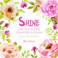Shine & Glow your face!  #skincare #skinhealthtip #skinglow #beautyquote #VyedaHerbals #LoveyourskinLoveHerbals