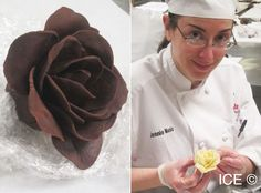 Lesson 91 - Making flowers from modeling chocolate Fondant Tips, Fondant Cakes, Cupcake Cakes, Car Cakes, Marshmallow Fondant, Cake Fondant, Chocolate Fondant, Chocolate Art, Molding Chocolate