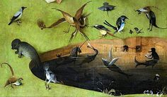 Bosch Hieronymus The Garden of Earthly Delights detail