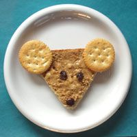 If You Take a Mouse to School snack idea / KidsSoup