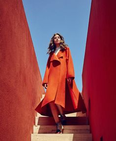 <p>Spanish photographer Daniel Riera shot the beautiful Valery Kaufman styled by Joanna Hillman in 'Bright Ideas' at the gorgeous La Murella Roja for Harper's Bazaar Us September 2016. Pho