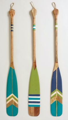 Decorative Oars for the Wall