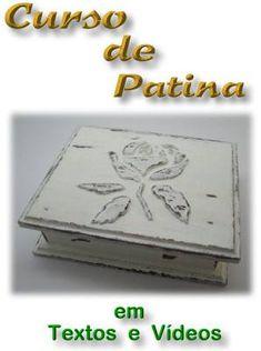 Curso de Patina - Textos e Vídeos #mpsnet  #conhecimento  www.mpsnet.net A #pátina, oferece a arte de revitalizar mobiliários ou imitar o móvel antigo, valorizando alguns de seus aspectos característicos. Veja em detalhes neste site http://www.mpsnet.net/loja/index.asp?loja=1&link=VerProduto&Produto=456