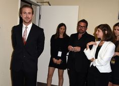 These People Admiring Ryan Gosling's Beautiful Face Are Basically All of Us