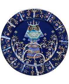 Iittala Dinnerware, Taika Blue Collection - Casual Dinnerware - Dining & Entertaining - Macy's