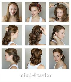 Retro Hairstyle Tutorials You Have To Try |