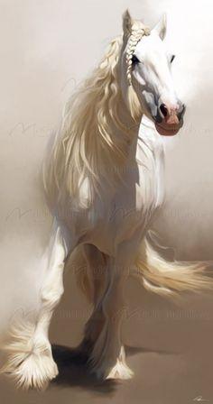 paul miner.Precioso caballo helado :)