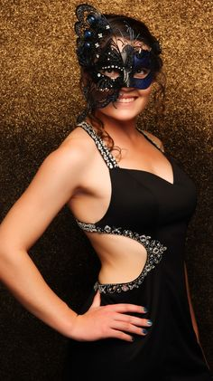 Strathallan Ball 2015. Beautiful butterfly mask! www.whitedoor.co.nz
