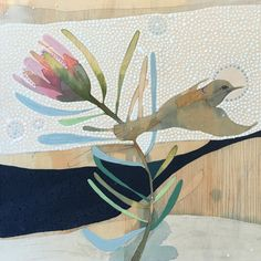 Dana Kinter Art creates paintings/drawings and functional ceramics for the home and heart. Protea Art, Protea Flower, Beginner Art, Bird Artwork, Artist Sketchbook, Art N Craft, Bird Drawings, Art File, Cool Paintings