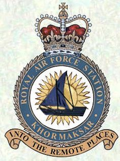 Raf Bases, Air Force Aircraft, Military Cap, Those Were The Days, Family Crest, Royal Air Force, Crests, Coat Of Arms, Armed Forces