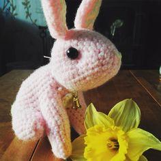 Happy Easter #bunny #rabbit #crochet #amigurumi #handmade by twinkletabby