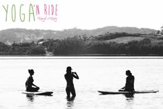 Yoga sup chillout moments www.yoganride.com